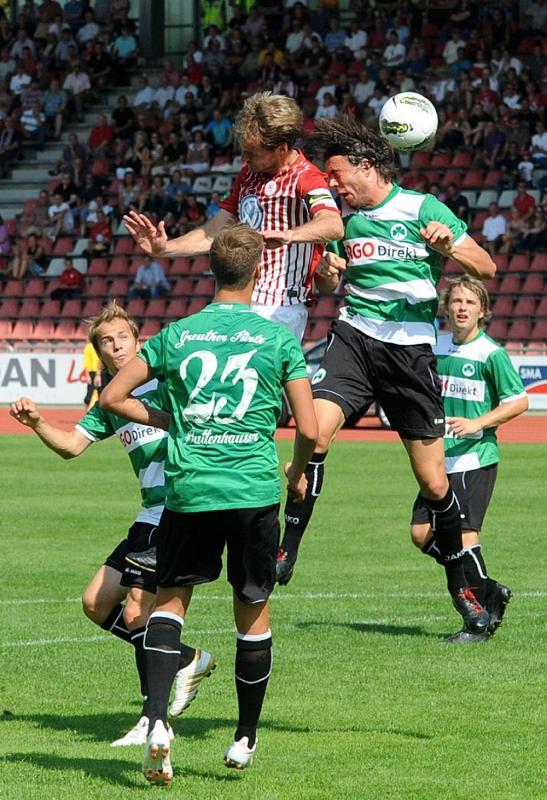 KSV Hessen - Greuther F�rth II: Enrico Gaede