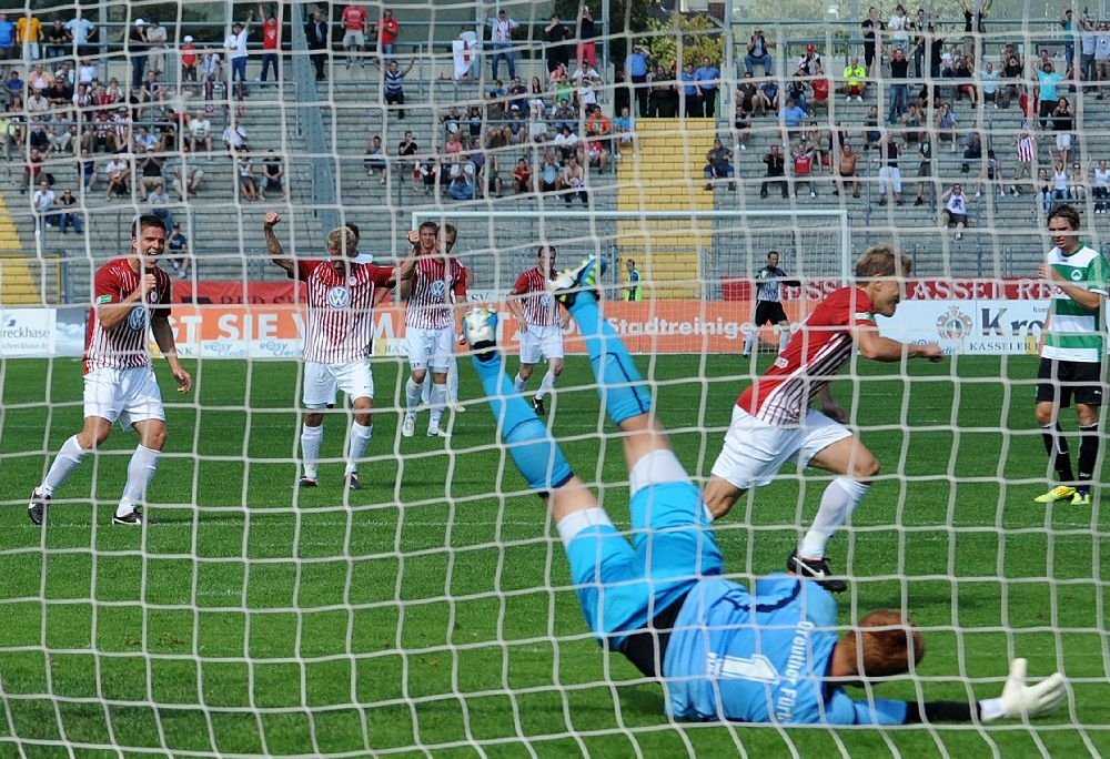 KSV Hessen - Greuther F�rth II: Andreas Mayer