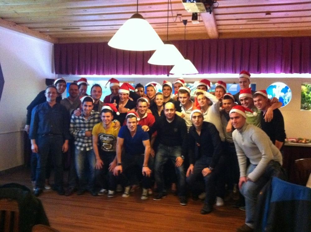 Weihnachtsfeier 2011 U19
