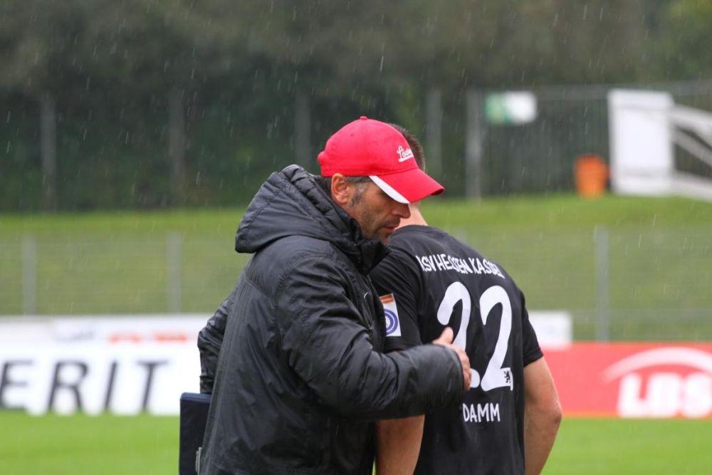 SC Pfullendorf - KSV Hessen: Uwe Wolf, Tobias Damm
