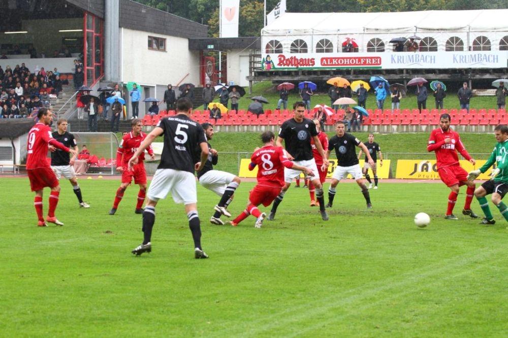SC Pfullendorf - KSV Hessen: Stefan M�ller