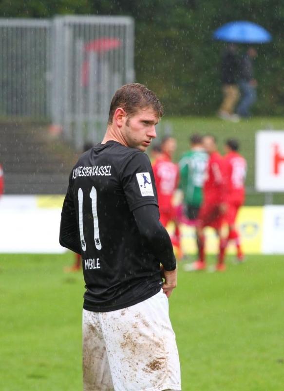 SC Pfullendorf - KSV Hessen: Ingmar Merle