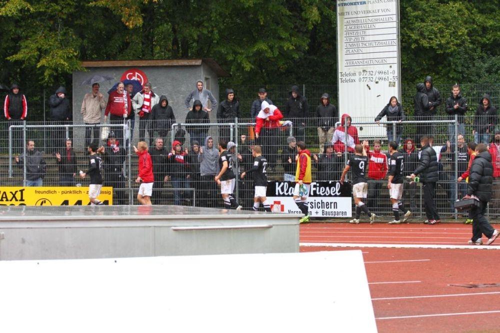 SC Pfullendorf - KSV Hessen: Fans