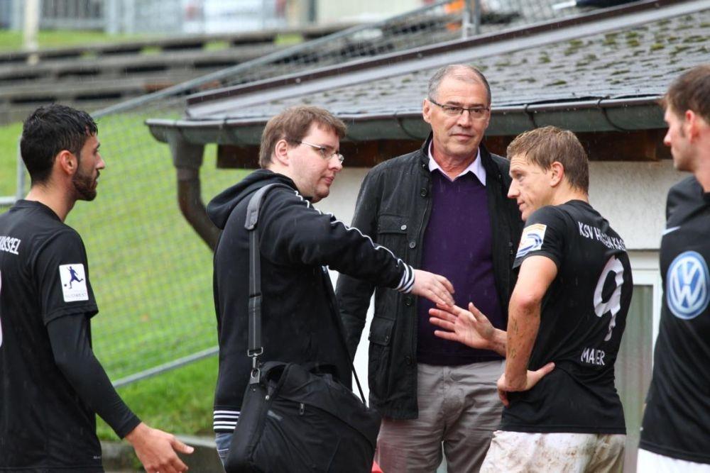 SC Pfullendorf - KSV Hessen: Torsten Pfennig, Andreas Mayer