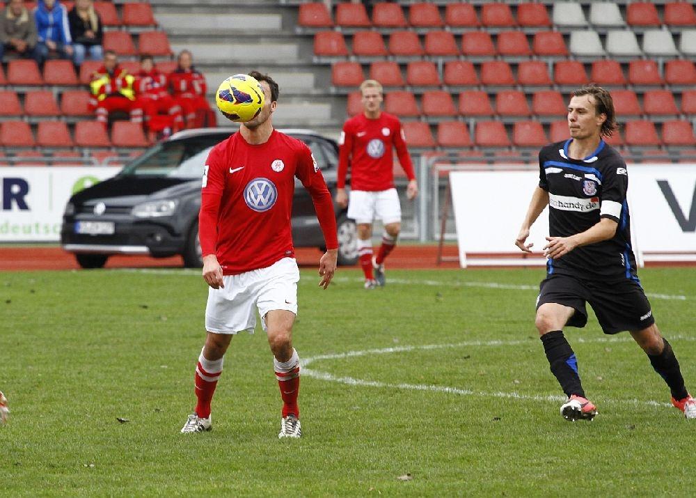 Tobias Becker war heute alles andere als Kopflos und spielte trotz Gesichtsverletzung weiter