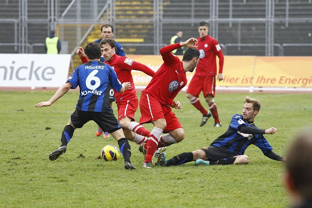 Pinheiro und Becker gegen zwei Koblenzer