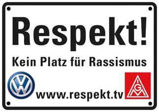 Logo Kein Platz f�r Rassismus