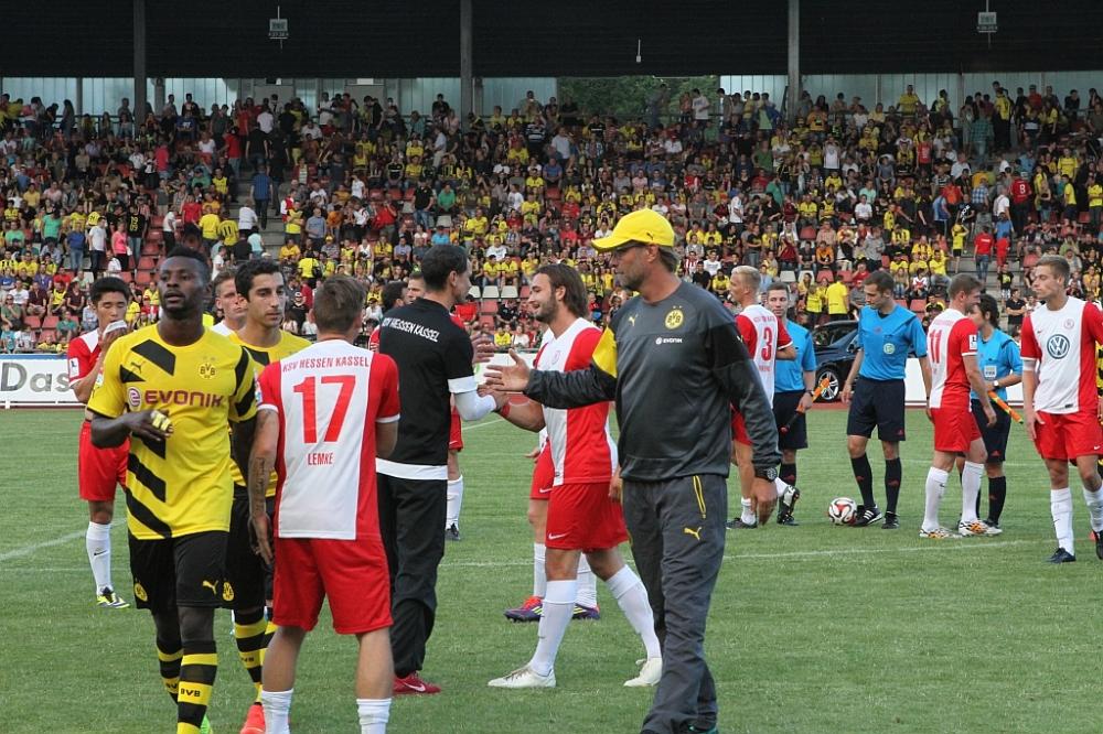 KSV Hessen - Borussia Dortmund