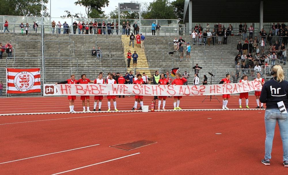 Heiratsantrag eines Kasseler Ultras
