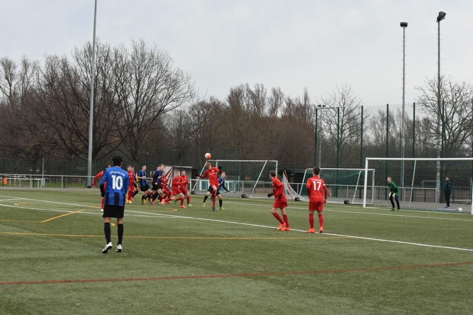 U15 gegen Fulda 5.12.15