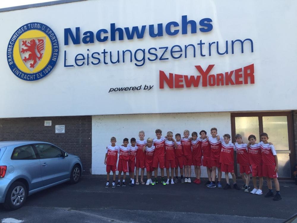 VfL Wolfsburg und E. Braunschweig - U13