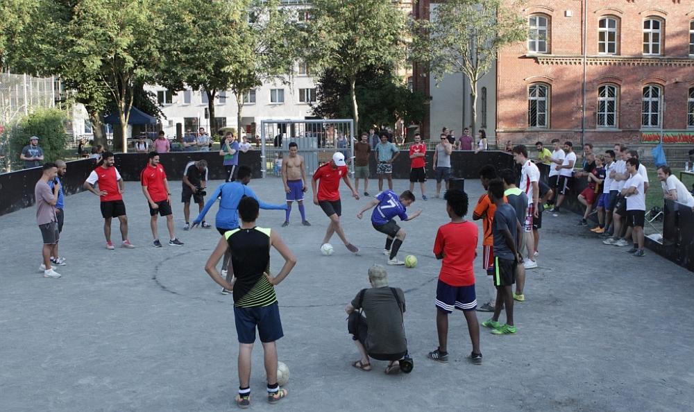 Streetball, Boukhoutta, Sanchez
