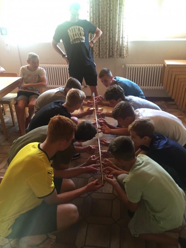 U16 Vorbereitung