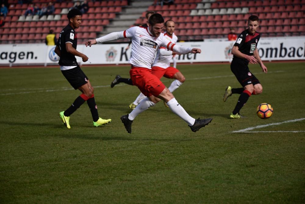 KSV Hessen Kassel - FC Kaiserslautern: Tobias Damm