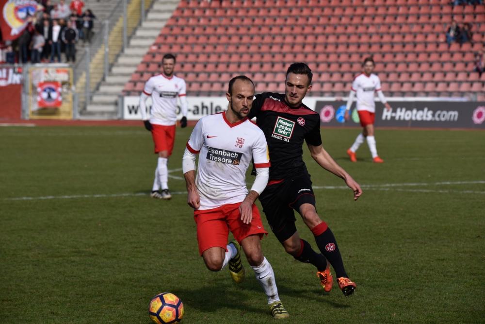 KSV Hessen Kassel - FC Kaiserslautern: Sergej Evljuskin