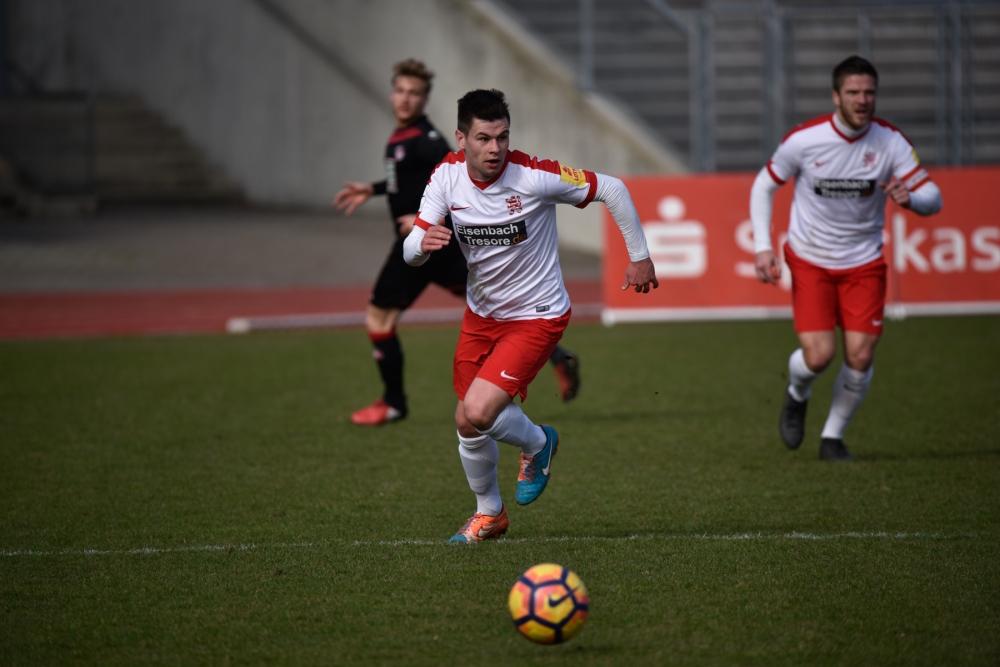 KSV Hessen Kassel - FC Kaiserslautern: Steven Rakk