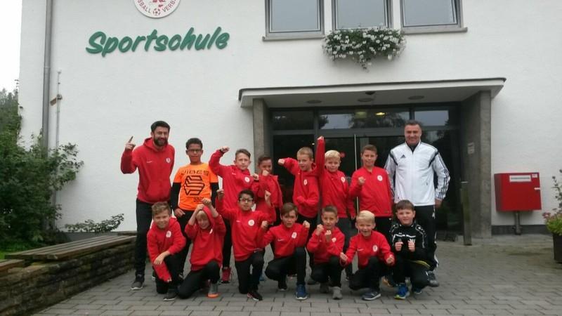 U10 Trainingslager Grünberg