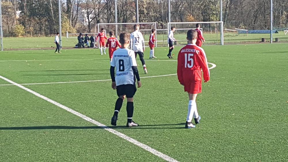 U14 Leistungsvergleich Hallescher FC