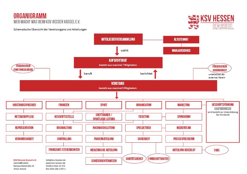 Organigramm - allgemeine Übersicht