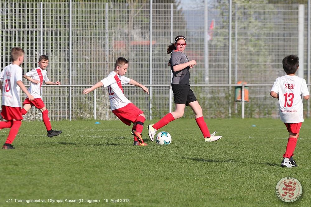 U11 Mit Sieg Beim Test Gegen U12 Von Olympia Kassel