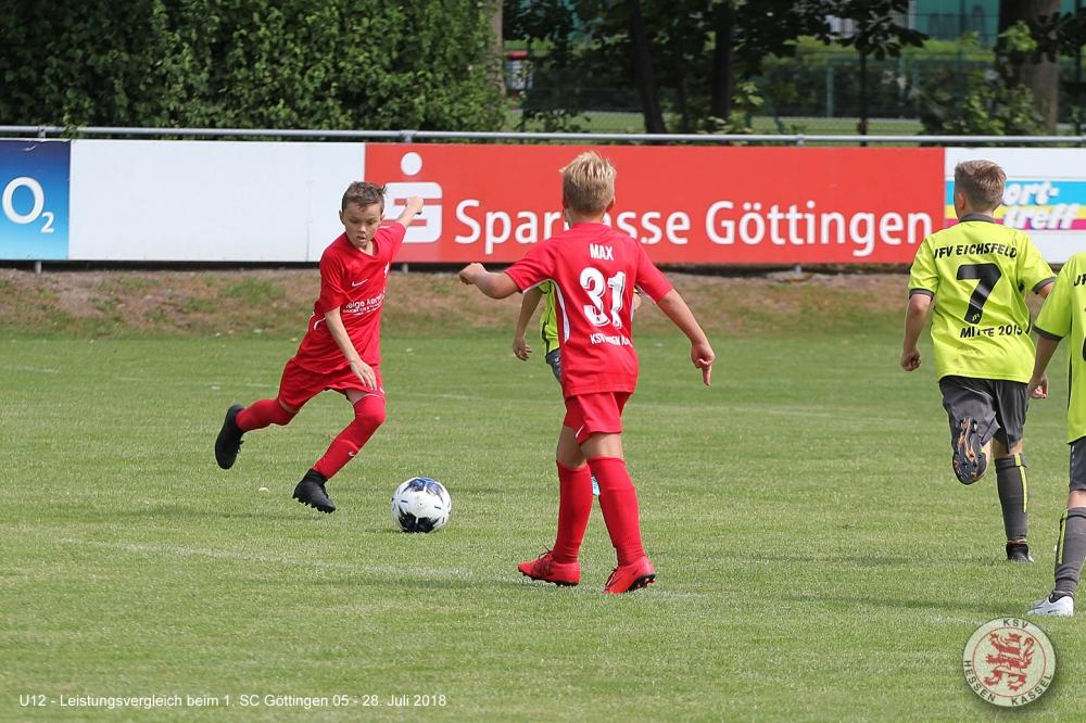 U12 Leistungsvergleich bei Göttingen 05