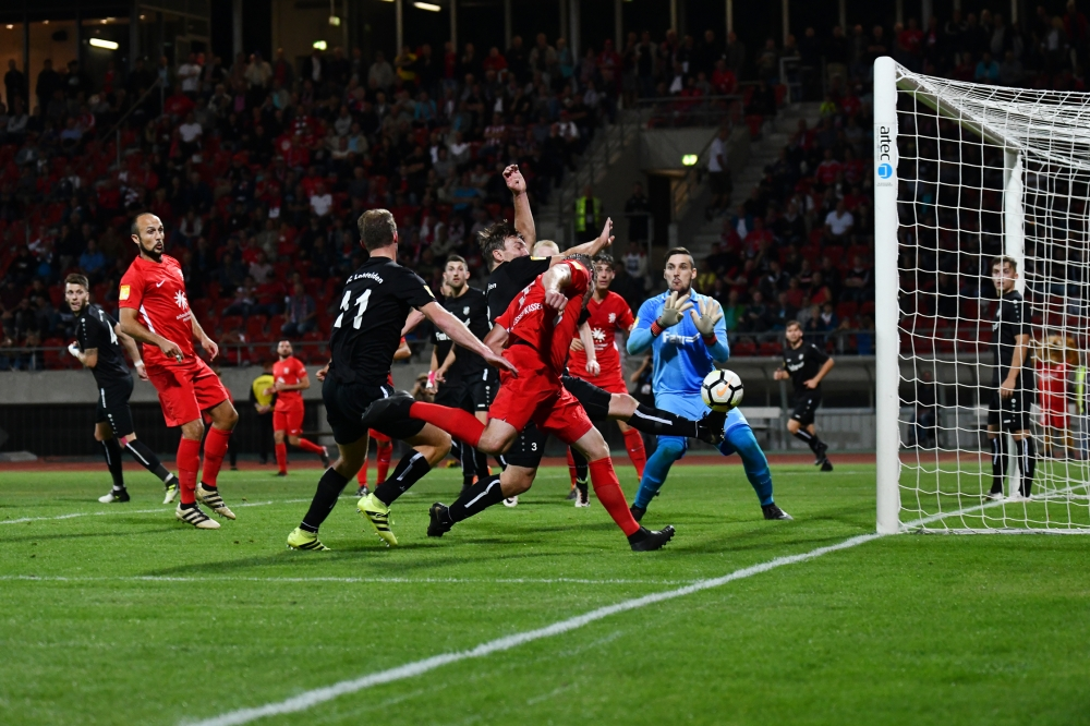 Lotto Hessenliga 2018/2019, KSV Hessen Kassel, FSC Lohfelden, Endstand 1:0, Sebastian Schmeer (KSV Hessen Kassel)