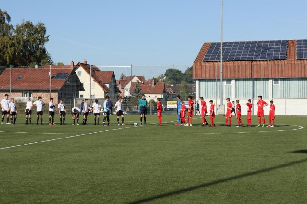 U14 Test in Schwalmstadt