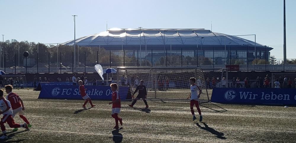 U11 Super4 Turnier auf Schalke