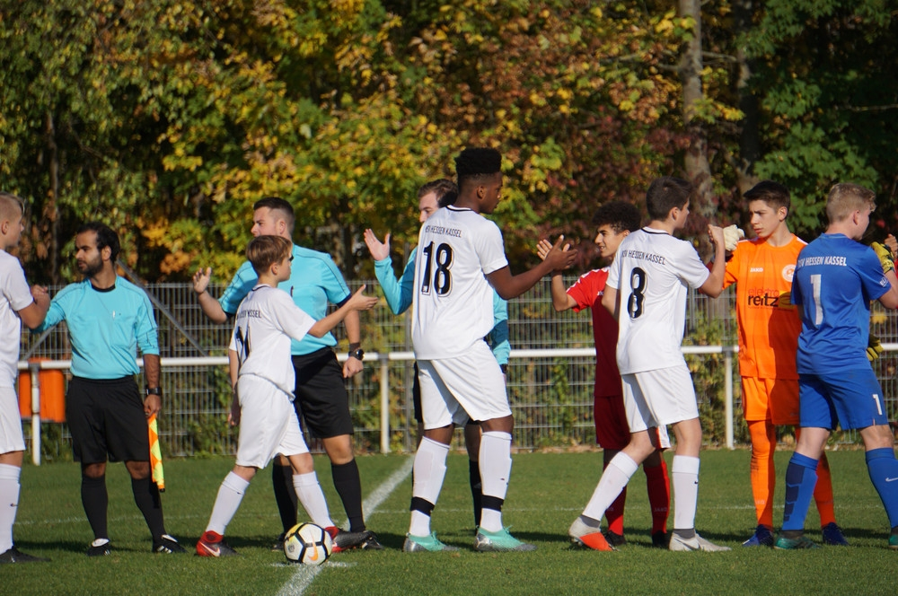 U15 gegen RW Frankfurt