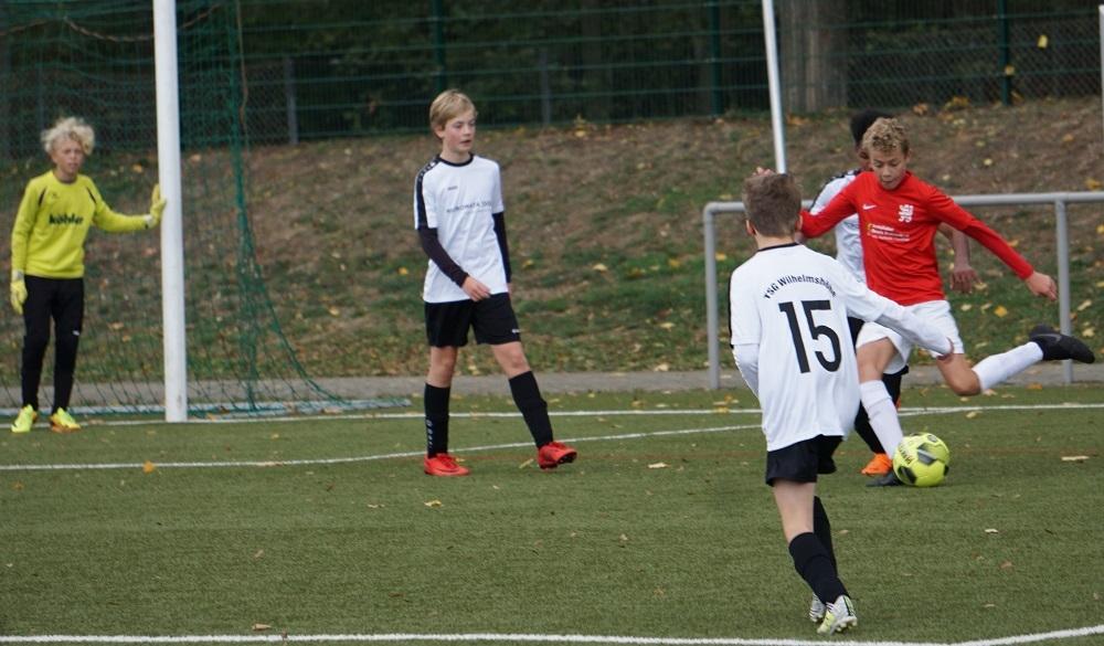 U13 gegen Wilhelmshöhe