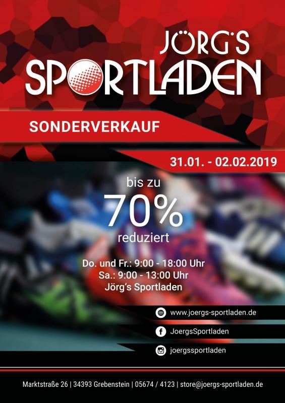 Sonderangebote Jörgs Sportladen