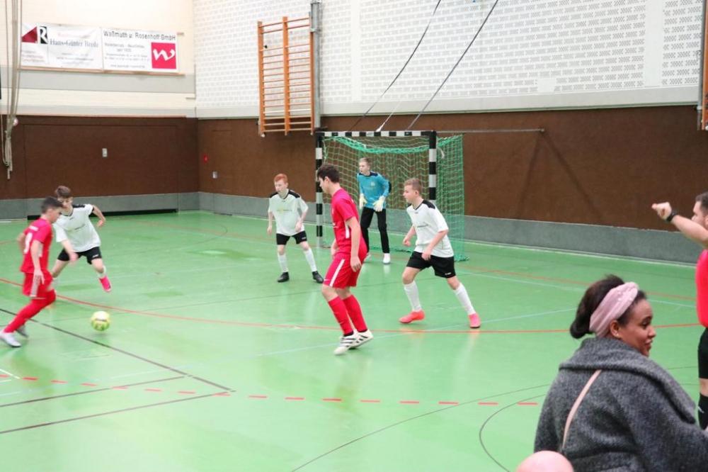 U14 Gewinn Hallenkreismeisterschaft 2019