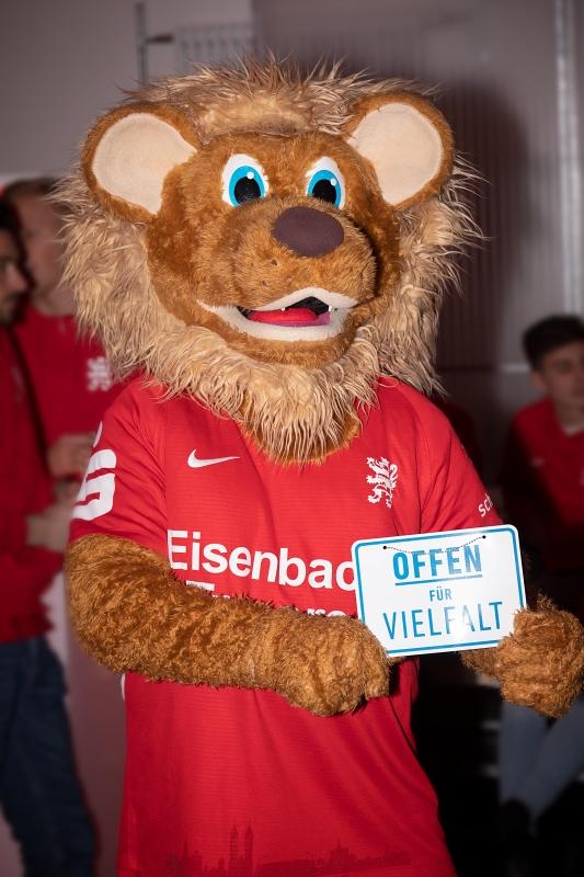 Neujahrsempfang 2019: Maskottchen Totti