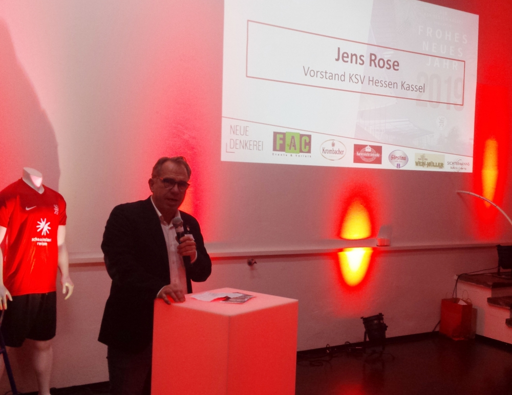 Neujahrsempfang 2019: Jens Rose