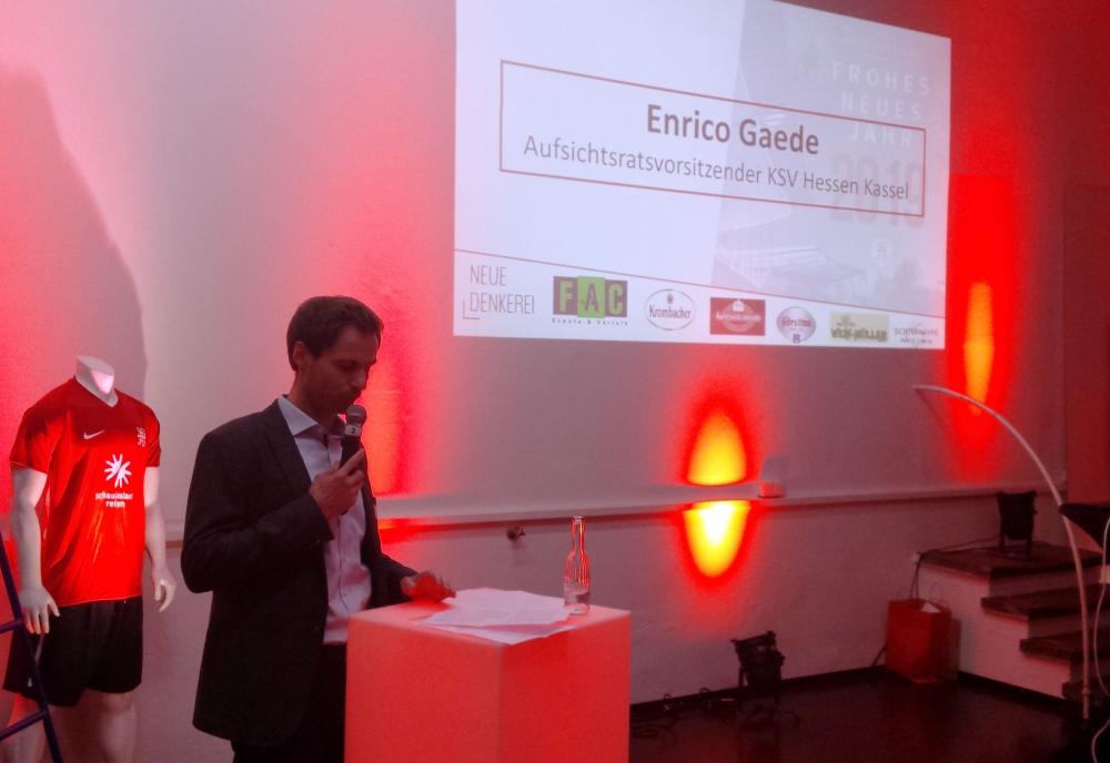 Neujahrsempfang 2019: Enrico Gaede