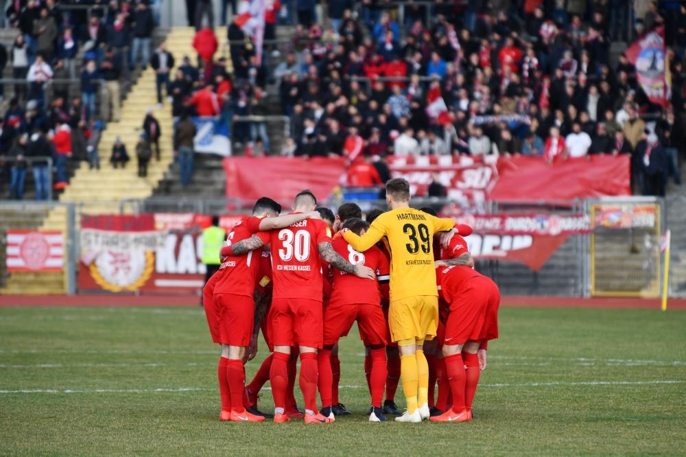 Lotto Hessenliga 2018/2019, KSV Hessen Kassel, FC Giessen, Endstand 0:0