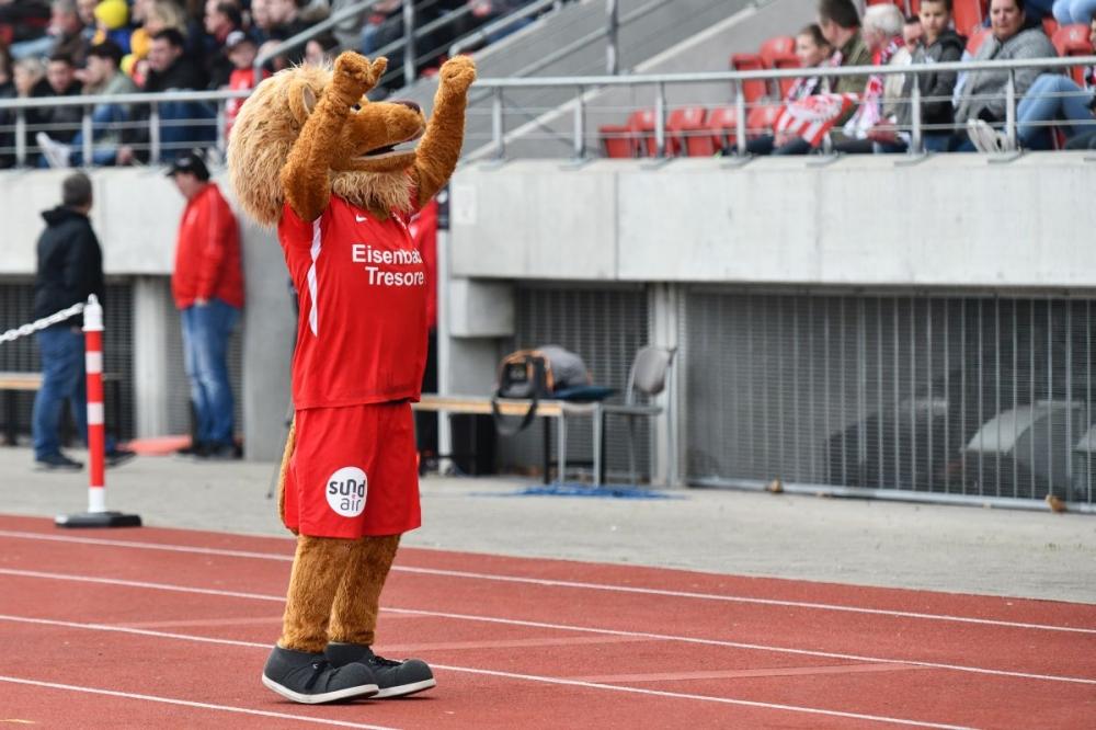 Lotto Hessenliga 2018/2019, KSV Hessen Kassel, FC Bayern Alzenau, Endstand 2:0