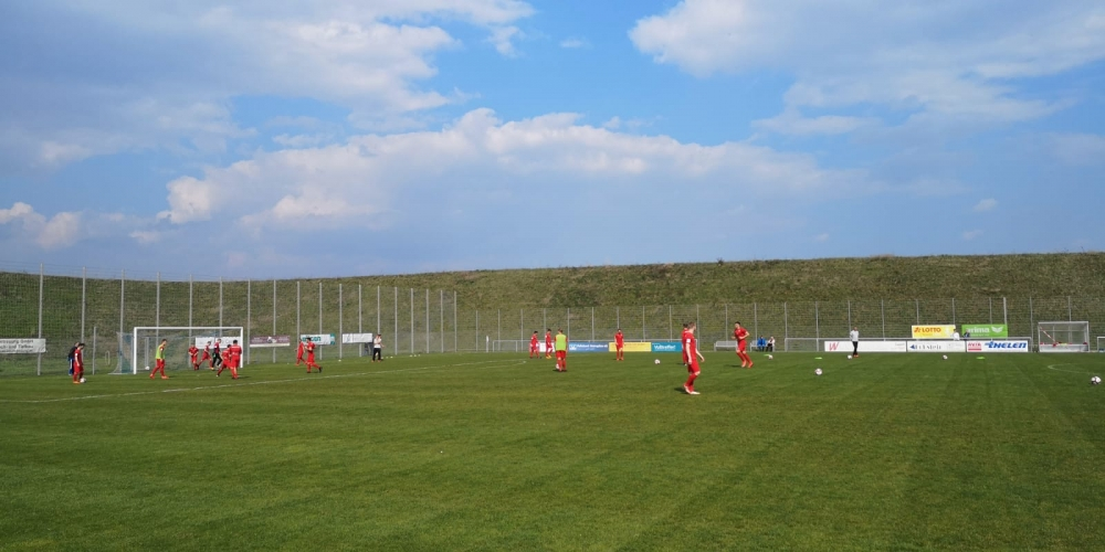Lotto Hessenliga 2018/2019, VfB Ginsheim, KSV Hessen Kassel, Endstand 2:4