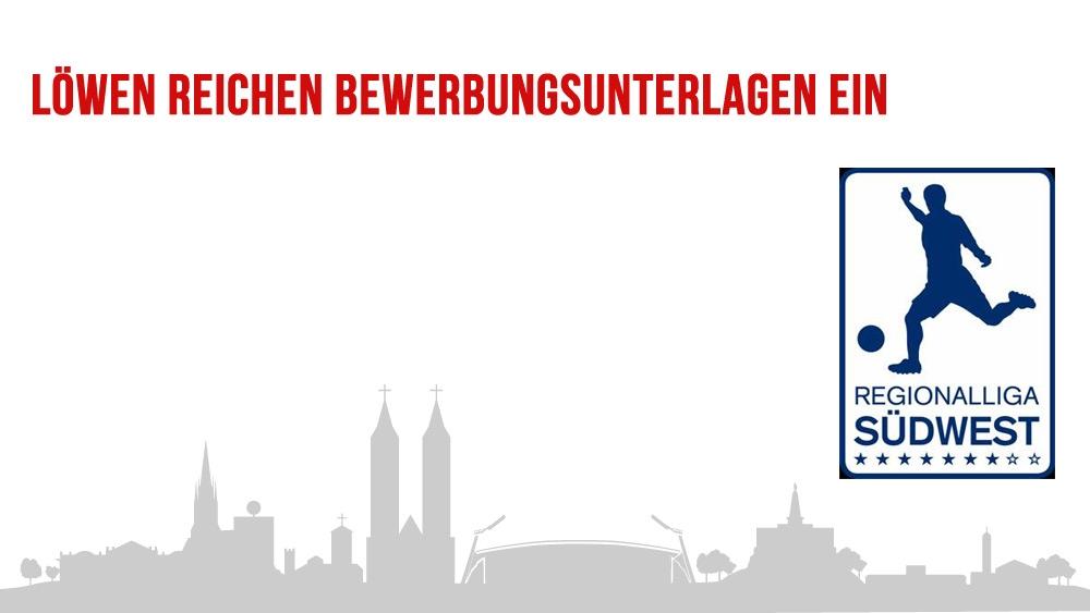 Lizenzunterlagen für Regionalliga Südwest 2019/20 eingereicht