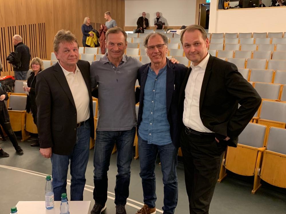 Eröffnung der Sonderausstellung zur nordhessischen Derbygeschichte im Hessischen Landesmuseum mit Armin Ruda, Jörg Müller, Bernd Lichte und Oliver Zehe