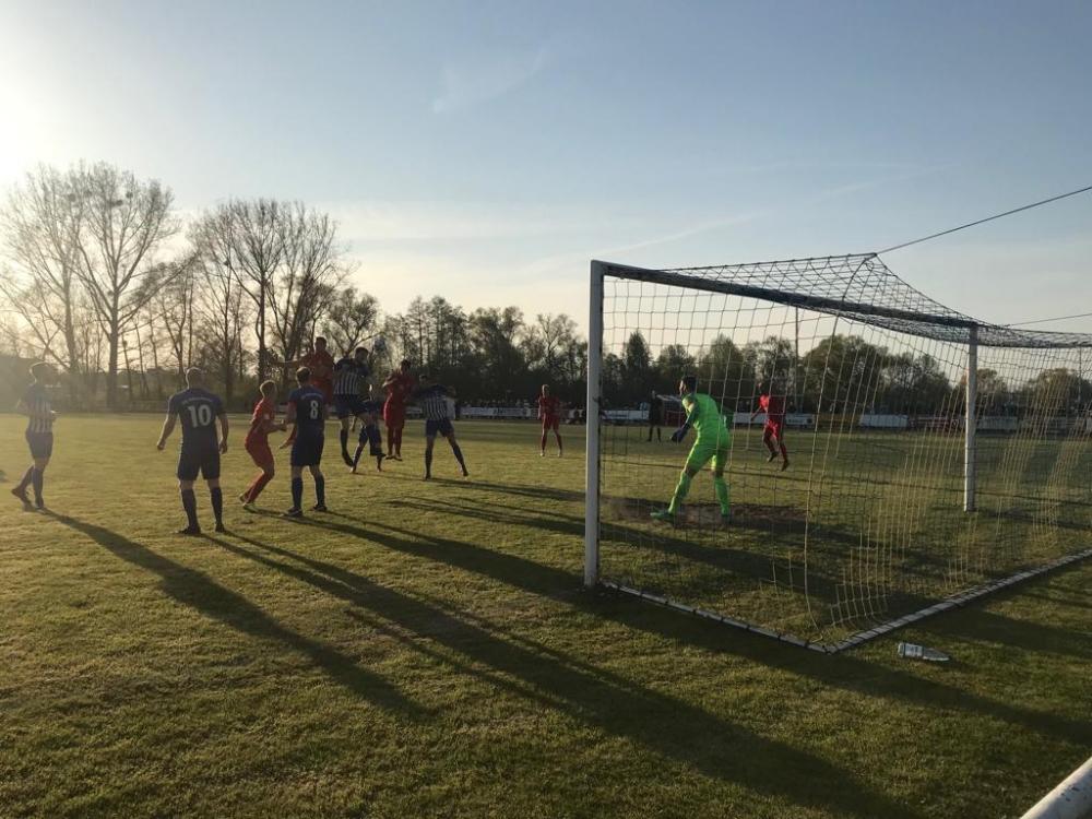 1:0 Luis Allmeroth, Krombacher Kreispokal 2018/2019 Viertelfinale FSK Vollmarshausen - KSV Hessen Kassel