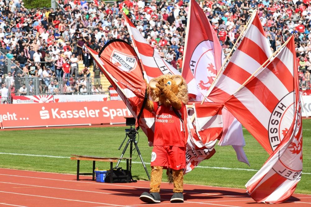 Lotto Hessenliga 2018/2019, KSV Hessen Kassel, KSV Baunatal, Endstand 3:1; Totti