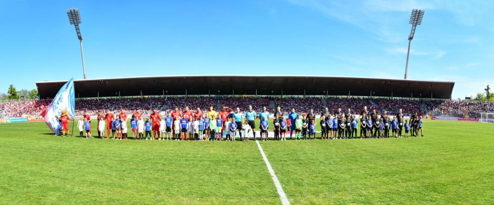 Lotto Hessenliga 2018/2019, KSV Hessen Kassel, KSV Baunatal, Endstand 3:1; Mannschaft