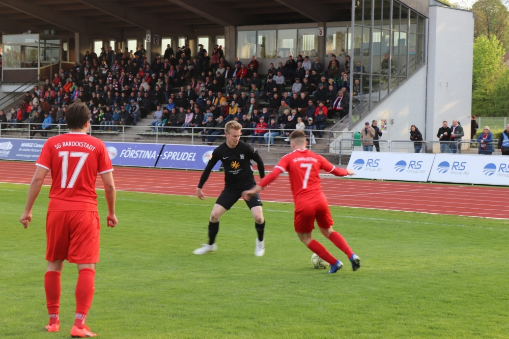 Lotto Hessenliga 2018/2019, SG Barockstadt, KSV Hessen Kassel