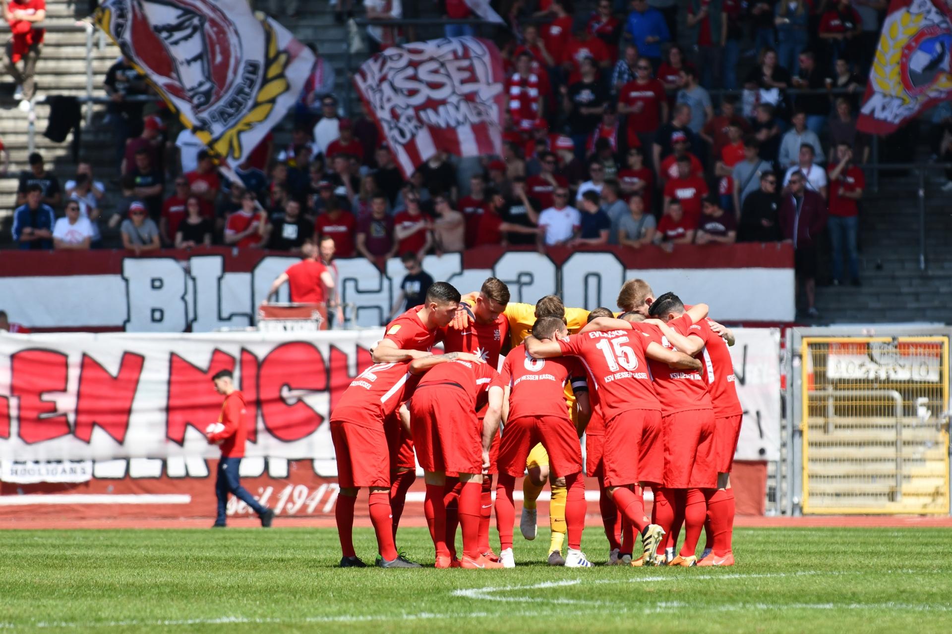 Lotto Hessenliga 2018/2019, KSV Hessen Kassel, T�rk G�c� Friedberg, Endstand 4:0