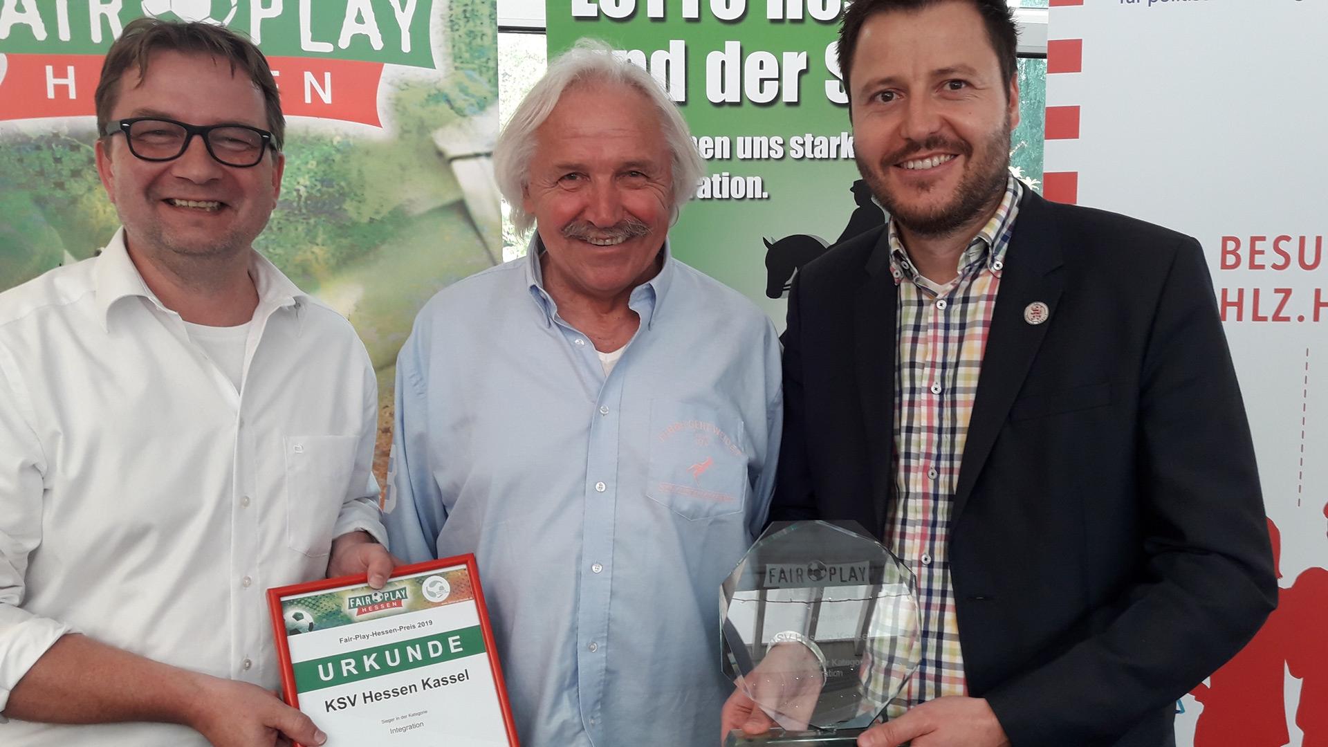 Löwen und Jumpers erhalten Auszeichnung von Fair-Play Hessen