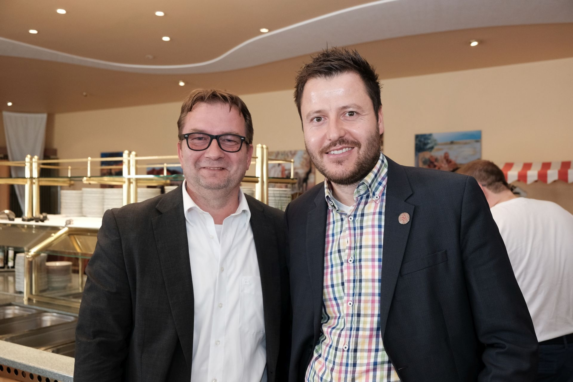 Thorsten Riewesell und Michael Krannich
