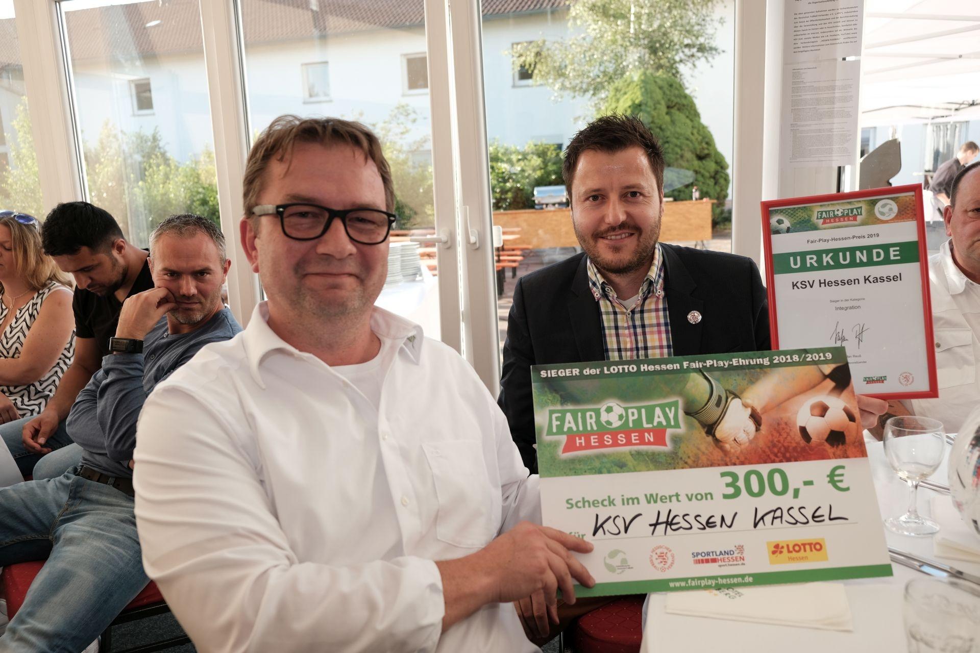 Freuen sich über die Auszeichnung: Thorsten Riewesell und Michael Krannich