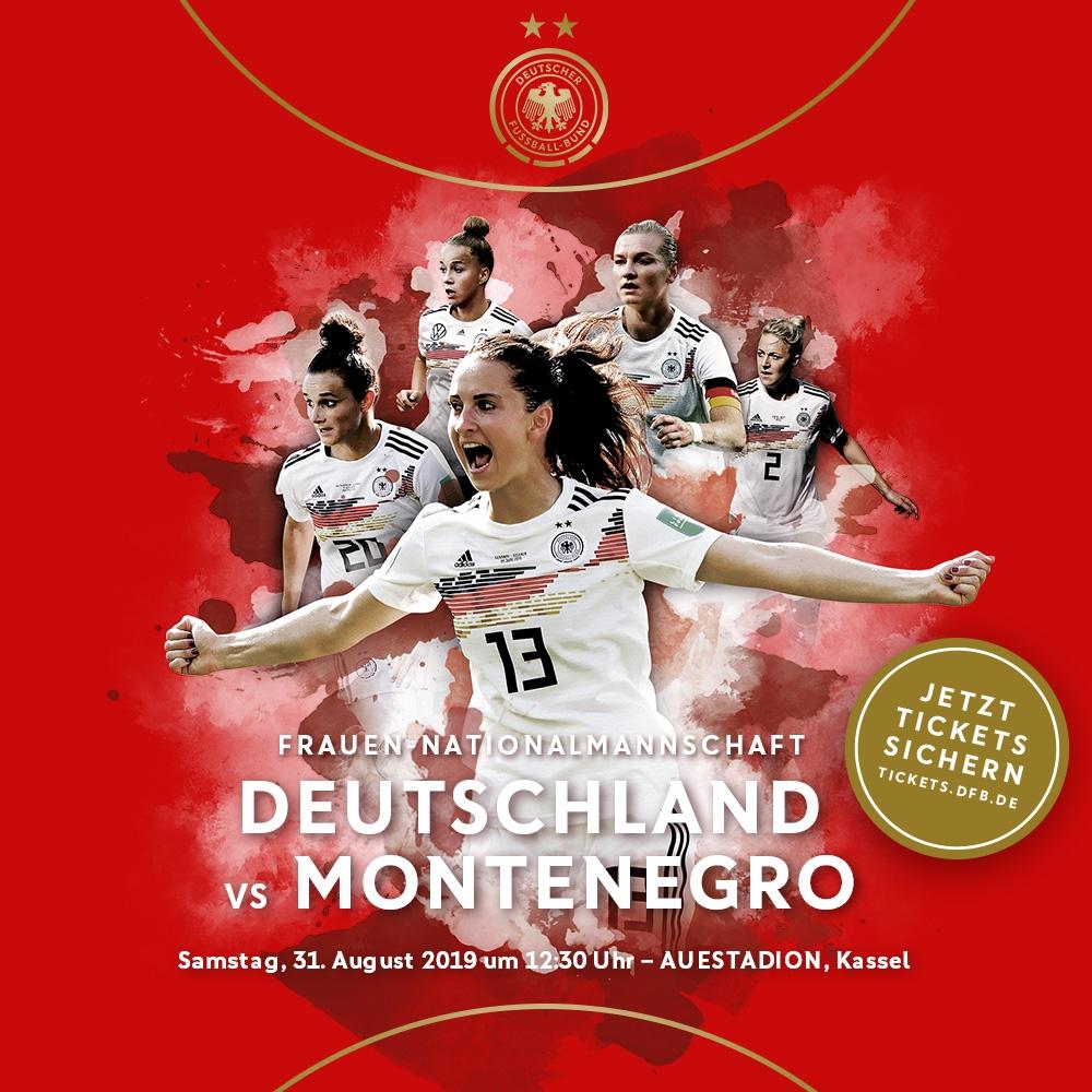 Länderspiel der Frauen am 31.8.2019