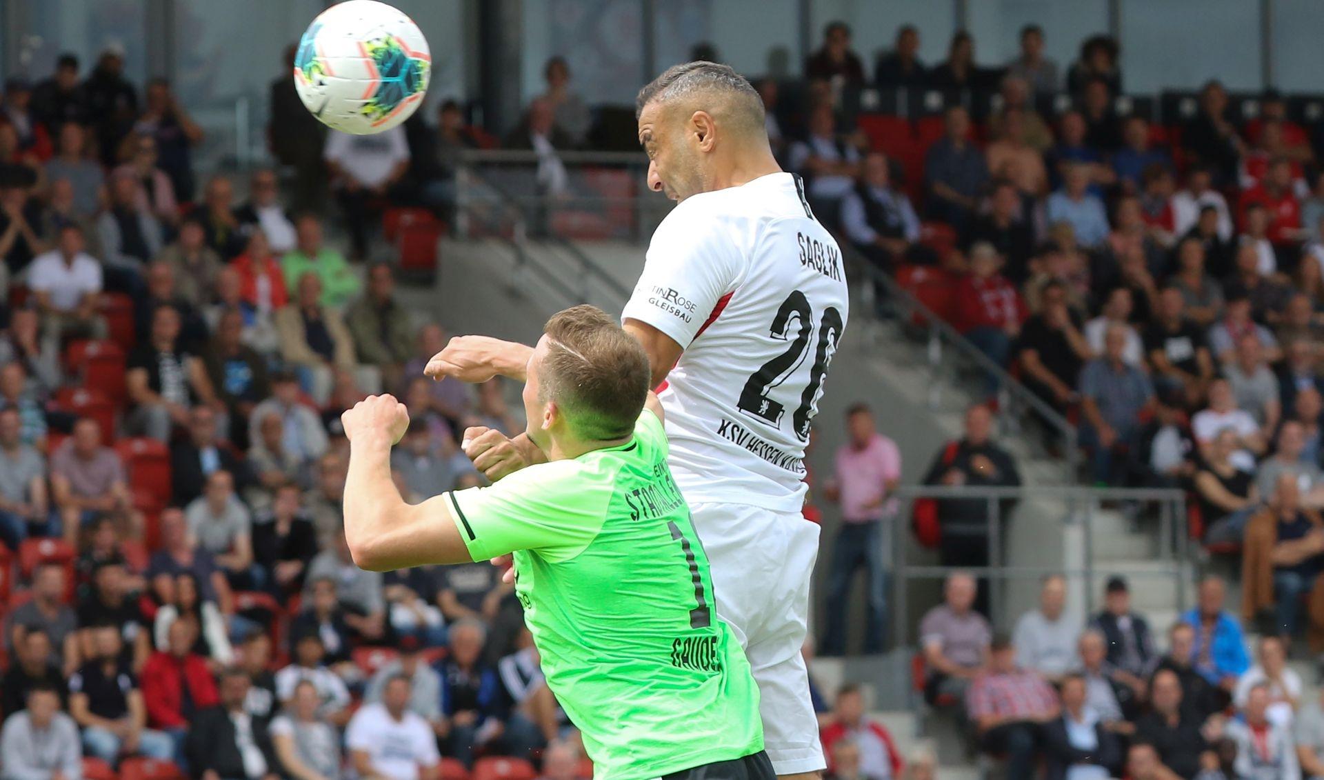 KSV Hessen Kassel - TSV Eintracht Stadtallendorf: Mahir Saglik